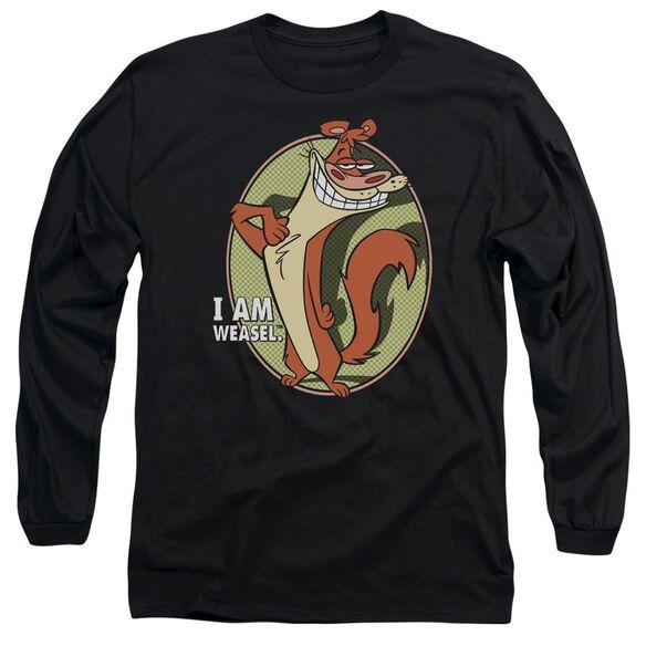 I Am Weasel Weasel Long Sleeve Adult T-Shirt