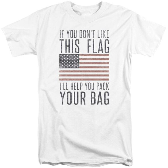 Pack Your Bag Short Sleeve Adult Tall T-Shirt