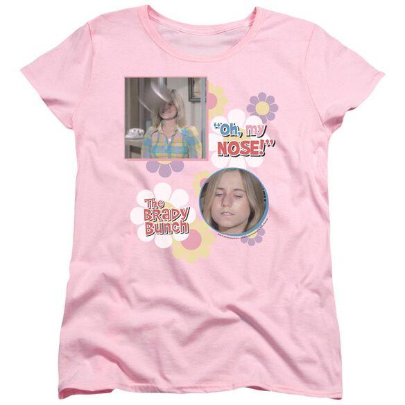 Brady Bunch Oh, My Nose! Short Sleeve Womens Tee T-Shirt