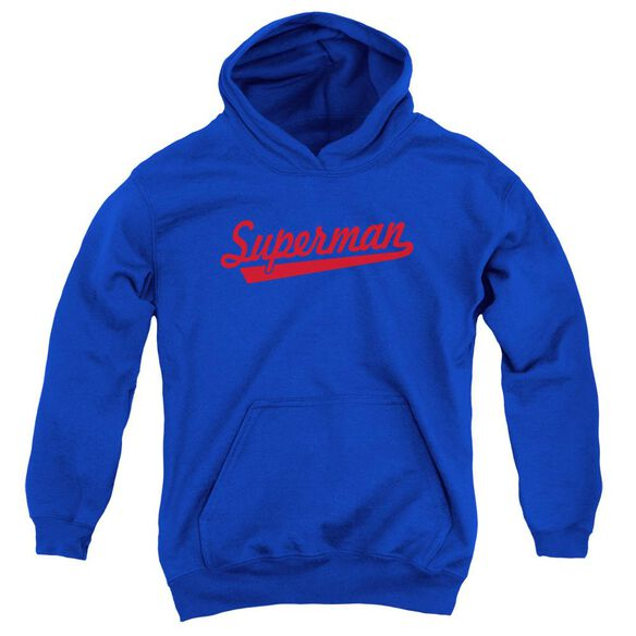 Superman S Tail Youth Pull Over Hoodie