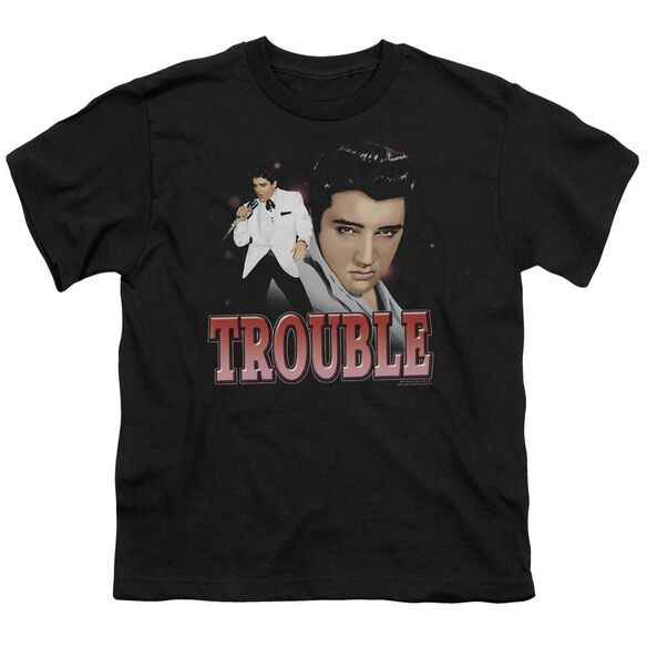 Elvis Trouble Short Sleeve Youth T-Shirt