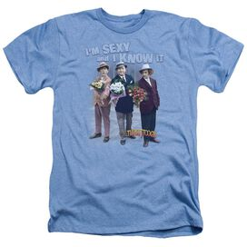 THREE STOOGE EXY - ADULT HEATHER - T-Shirt
