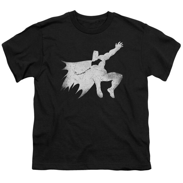 Batman V Superman Knight Silhouette Short Sleeve Youth T-Shirt
