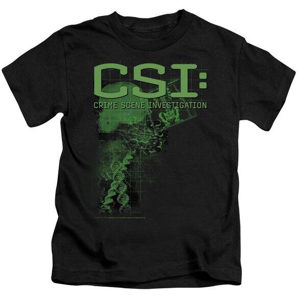 CSI EVIDENCE - S/S JUVENILE 18/1 - BLACK - T-Shirt