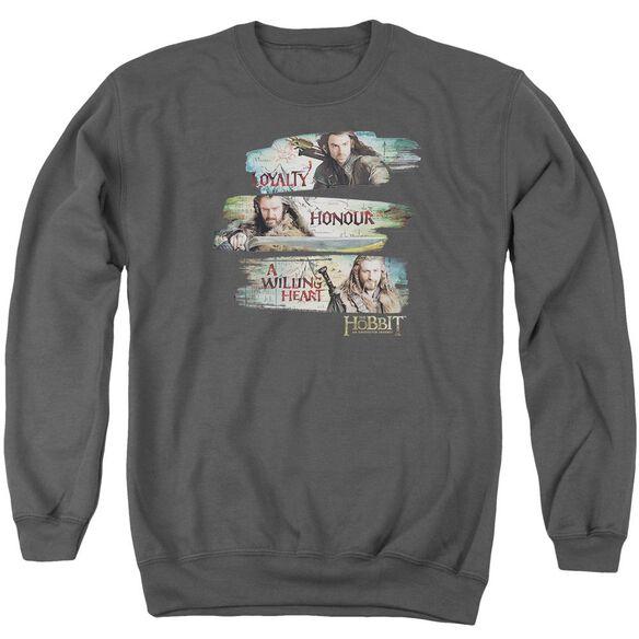 The Hobbit Loyalty And Honour Adult Crewneck Sweatshirt