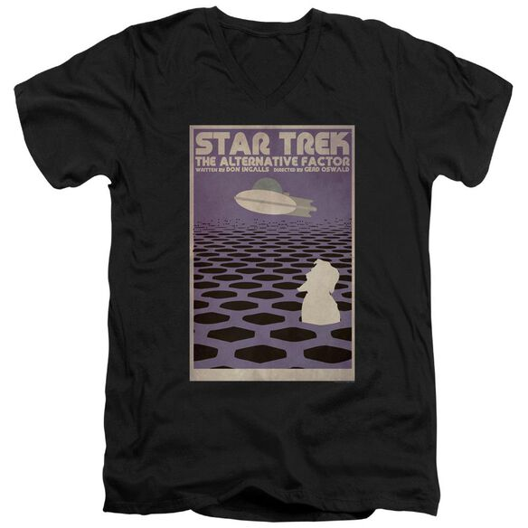 Star Trek Tos Episode 27 Short Sleeve Adult V Neck T-Shirt