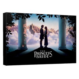 Princess Bride Storybook Love Canvas Wall Art With Back Board