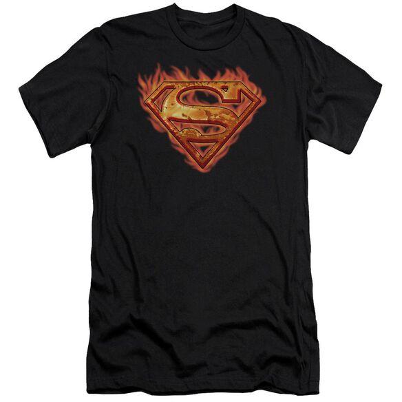 Superman Hot Metal Premuim Canvas Adult Slim Fit