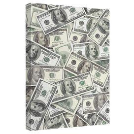 Hundred Dollar Bills Quickpro Artwrap Back Board