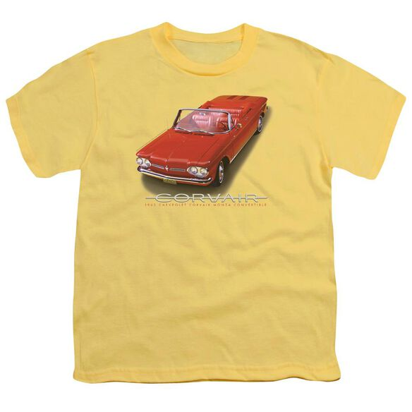 Chevrolet 62 Corvair Convertible Short Sleeve Youth T-Shirt