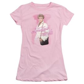 MURDER SHE WROTE AMATEUR SLEUTH - S/S JUNIOR SHEER - PINK T-Shirt