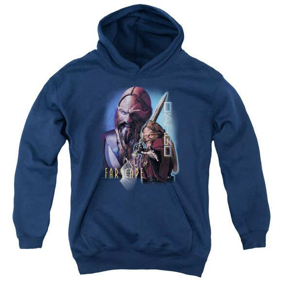 Farscape D'argo Youth Pull Over Hoodie