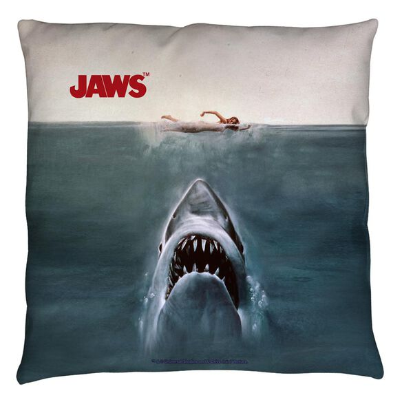 Jaws Jaws Poster Throw