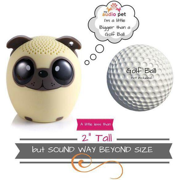 My Audio Pet Mini Bluetooth Wireless Speaker - Power Pup