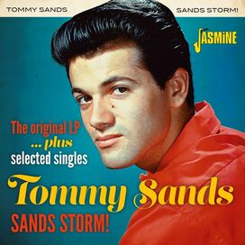 Tommy Sands - Sands Storm! - Original LP Plus Selected Singles