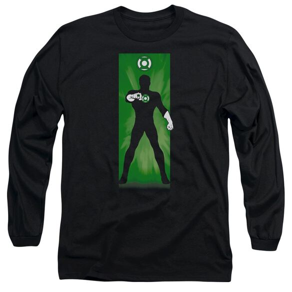 Dc Green Lantern Block Long Sleeve Adult T-Shirt