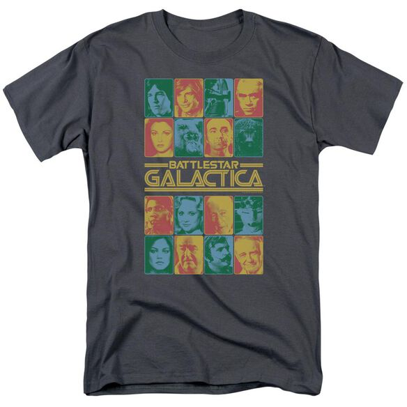 BSG 35TH ANNIVERSARY CAST - S/S ADULT 18/1 - CHARCOAL T-Shirt