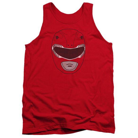 Power Rangers Ranger Mask Adult Tank