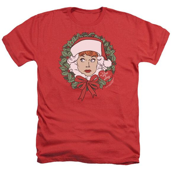 I Love Lucy Wreath Adult Heather