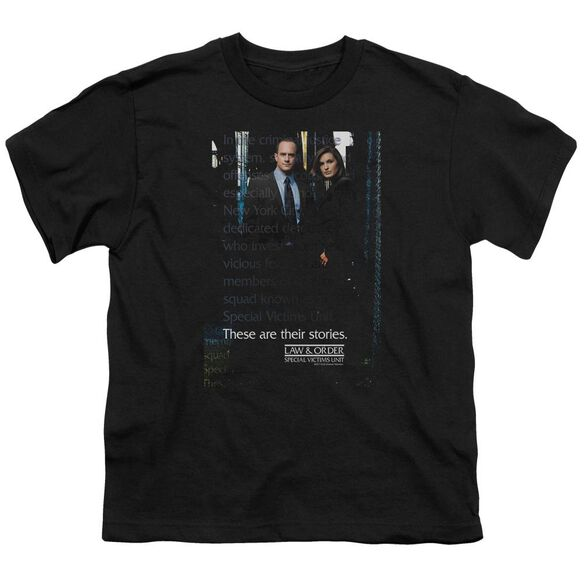 Law And Order Svu Svu Short Sleeve Youth T-Shirt