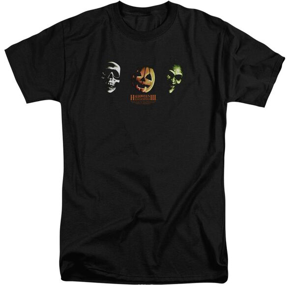 Halloween Iii Three Masks Short Sleeve Adult Tall T-Shirt