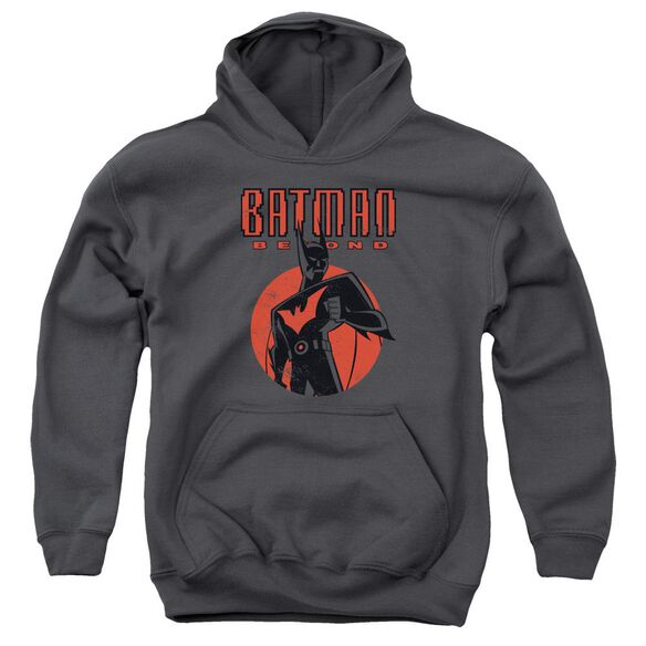 Batman Beyond Iconic Pose Youth Pull Over Hoodie