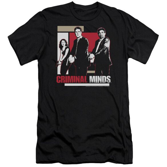 Criminal Minds Guns Drawn Short Sleeve Adult T-Shirt