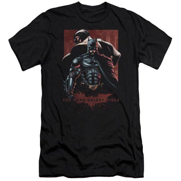 Dark Knight Rises Batman & Bane Short Sleeve Adult T-Shirt