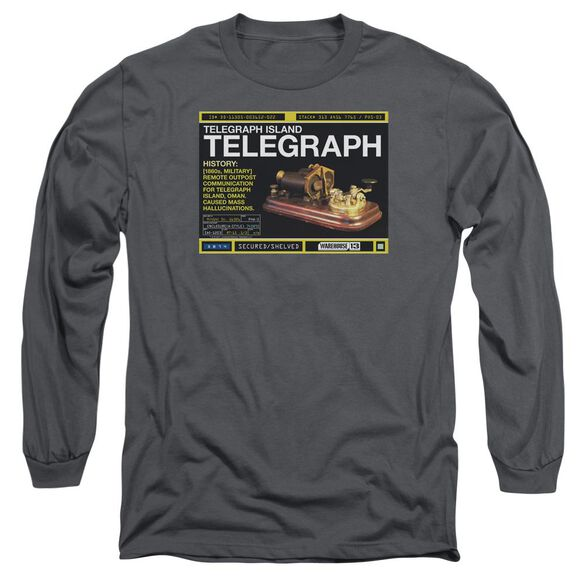 Warehouse 13 Telegraph Island Long Sleeve Adult T-Shirt