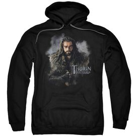 The Hobbit Thorin Oakenshield Adult Pull Over Hoodie Black