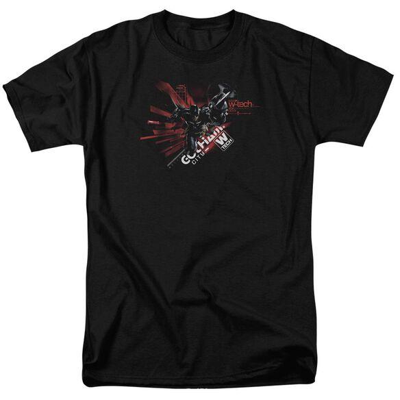 Batman Arkham Knight Ak Tech Short Sleeve Adult T-Shirt