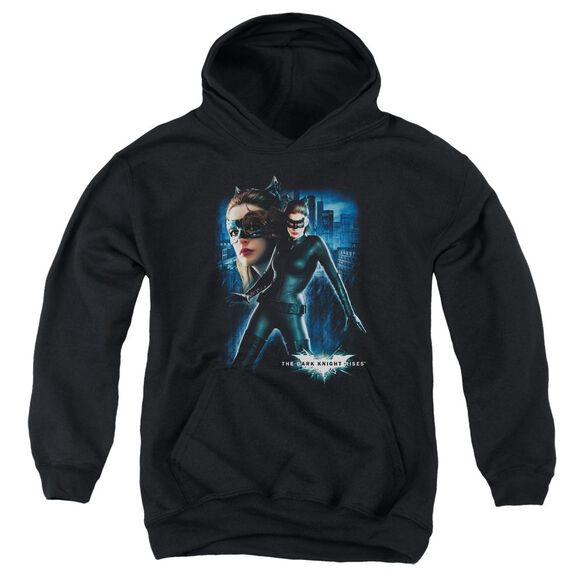 Dark Knight Rises Catwoman Youth Pull Over Hoodie