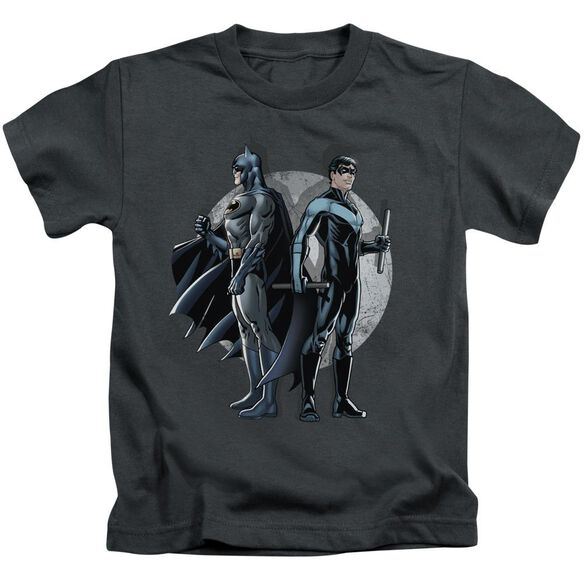 Batman Spotlight Short Sleeve Juvenile Charcoal T-Shirt