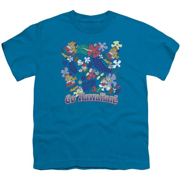 GARFIELD GO HAWAIIAN-S/S T-Shirt