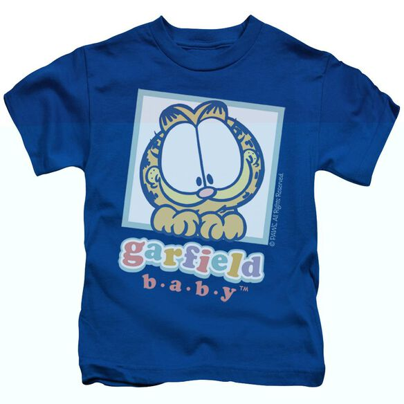 GARFIELD BABY GARFIELD - S/S JUVENILE 18/1 - ROYAL BLUE - T-Shirt