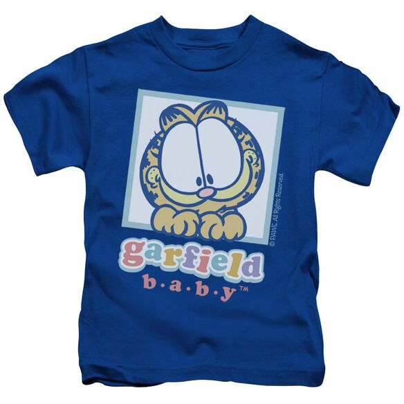 Garfield Baby Garfield Short Sleeve Juvenile Royal Blue Md T-Shirt