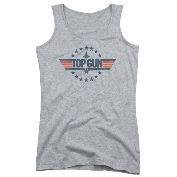 Top Gun Star Logo Juniors Tank Top Athletic