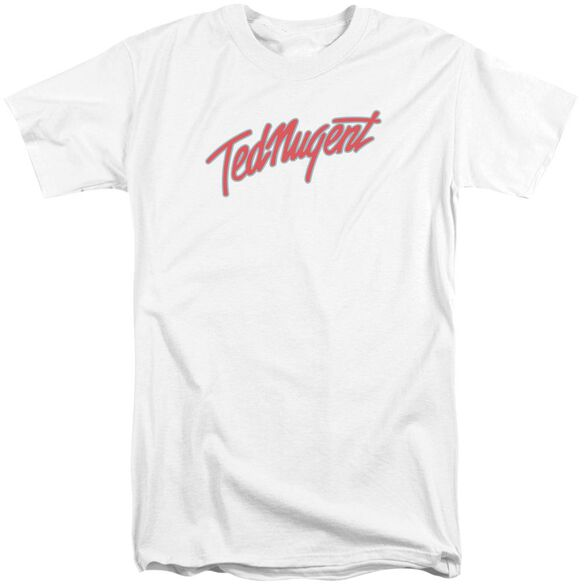 Ted Nugent Clean Logo Short Sleeve Adult Tall T-Shirt
