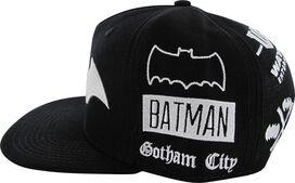 Batman Logo Theme All Over Snapback Hat