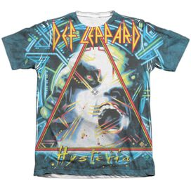 Def Leppard Hysteria Adult Poly Cotton Short Sleeve Tee T-Shirt