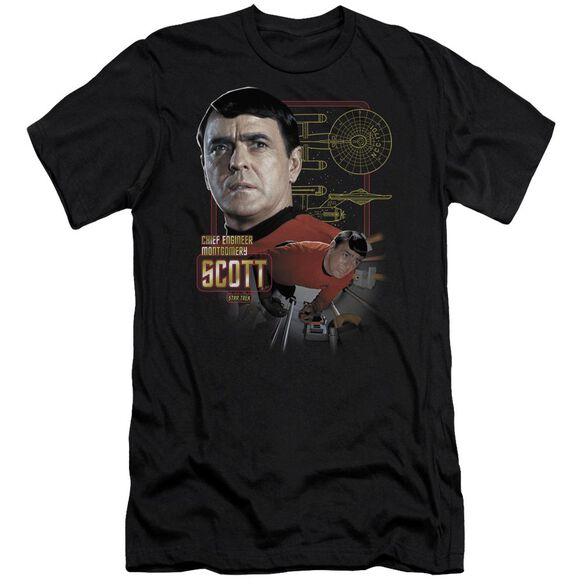 Star Trek Chief Engineer Scott-premuim Canvas Adult Slim