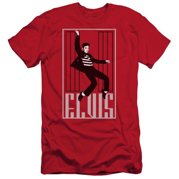 Elvis One Jailhouse Short Sleeve Adult T-Shirt