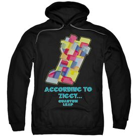 Quantum Leap According To Ziggy Adult Pull Over Hoodie
