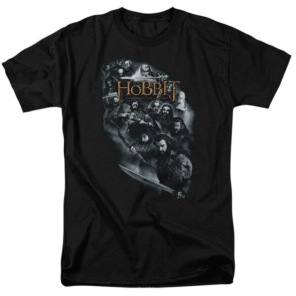 The Hobbit Cast Of Characters Short Sleeve Adult T-Shirt