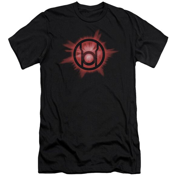 Green Lantern Red Glow Short Sleeve Adult T-Shirt
