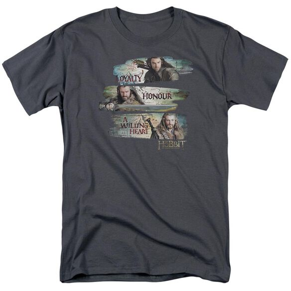 The Hobbit Loyalty And Honour Short Sleeve Adult T-Shirt