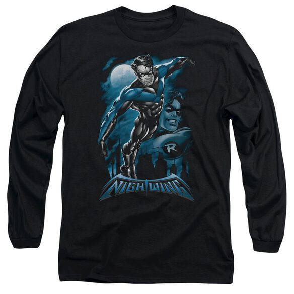 Batman All Grown Up Long Sleeve Adult T-Shirt