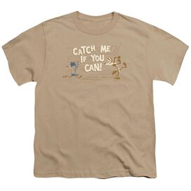 Looney Tunes Catch Me Short Sleeve Youth T-Shirt