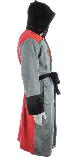 Superman Red Son Hooded Fleece Robe 6544f6f1e