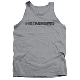 Hummer Distressed Hummer Logo Adult Tank Athletic